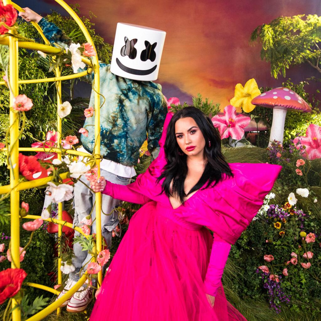 """Nieuwe single Marshmello & Demi Lovato – """"OK Not To Be OK"""""""