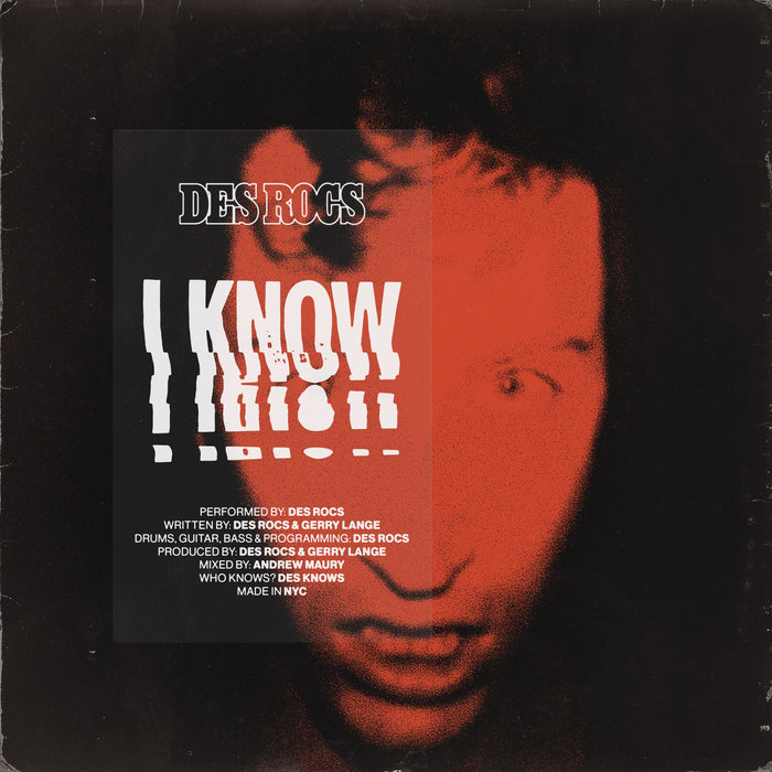 """Nieuwe single Des Rocs – """"I Know"""""""