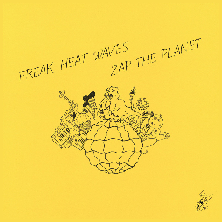 Freak Heat Waves – Zap the Planet (★★★½): Groovy koortsdroom