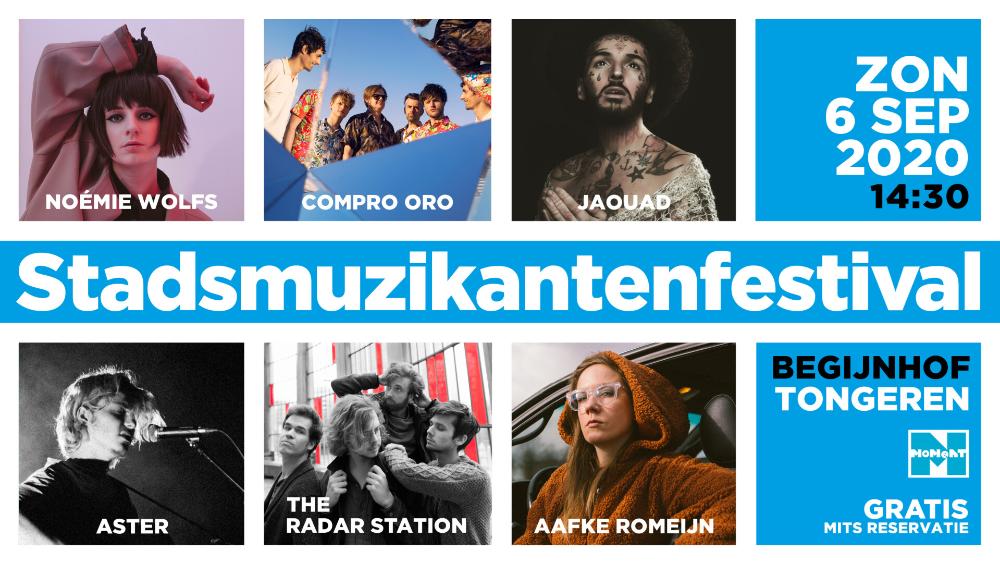 Stadsmuzikantenfestival @ Begijnhof Tongeren: Unieke shows op unieke locaties