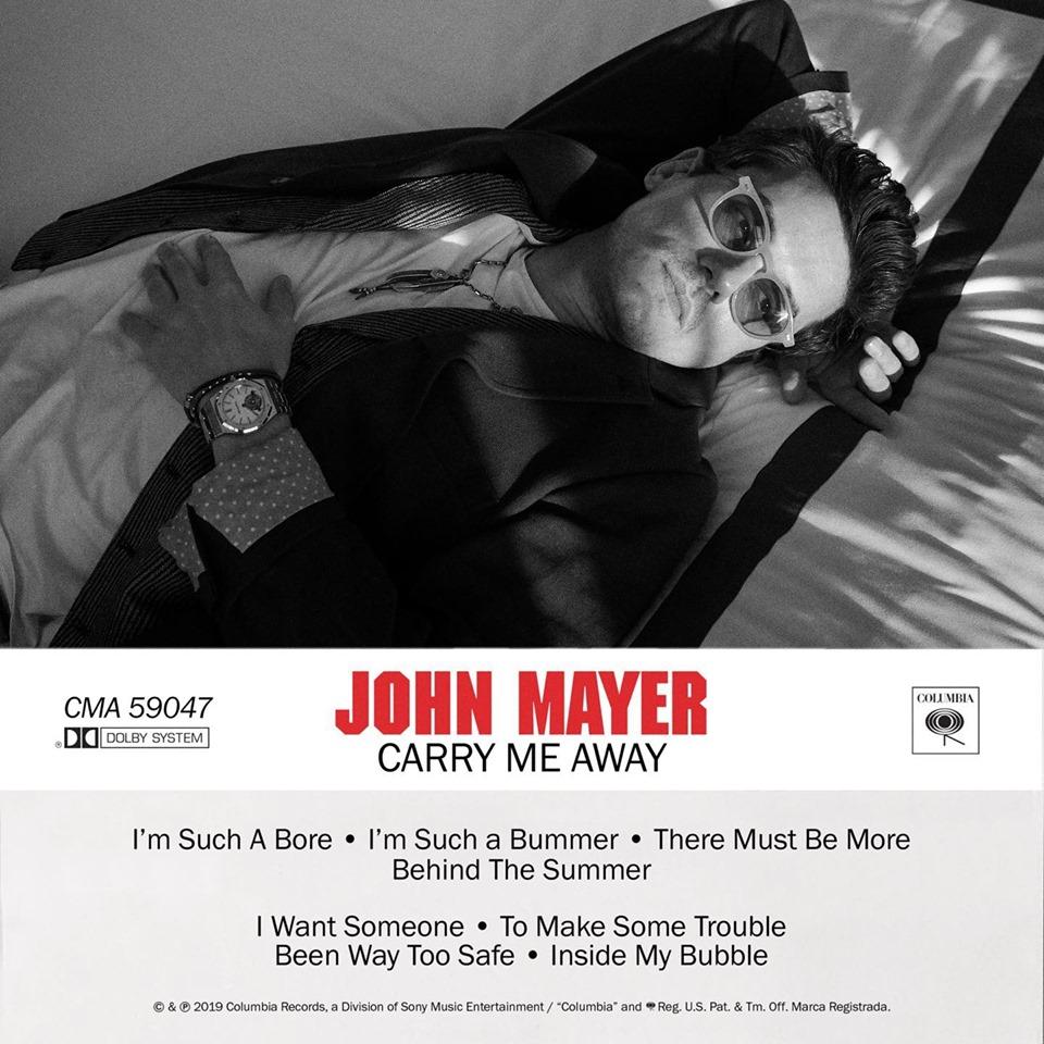 """Nieuwe single John Mayer – """"Carry Me Away"""""""