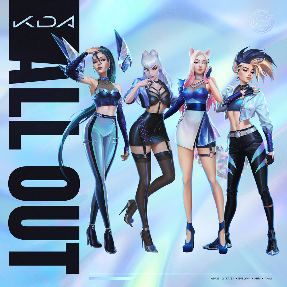 K/DA – ALL OUT (★★★½): Fictieve popgroep maakt levensechte indruk