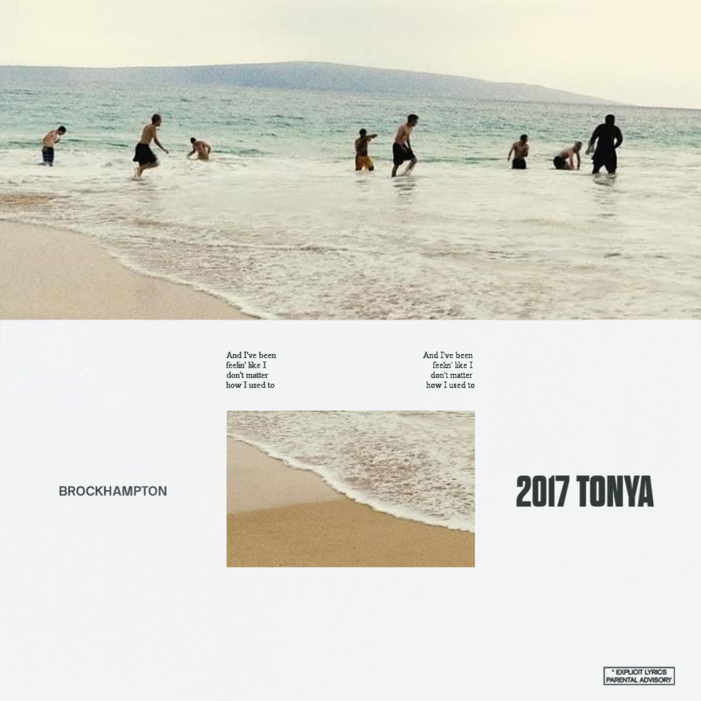"Nieuwe single BROCKHAMPTON – ""Tonya"""