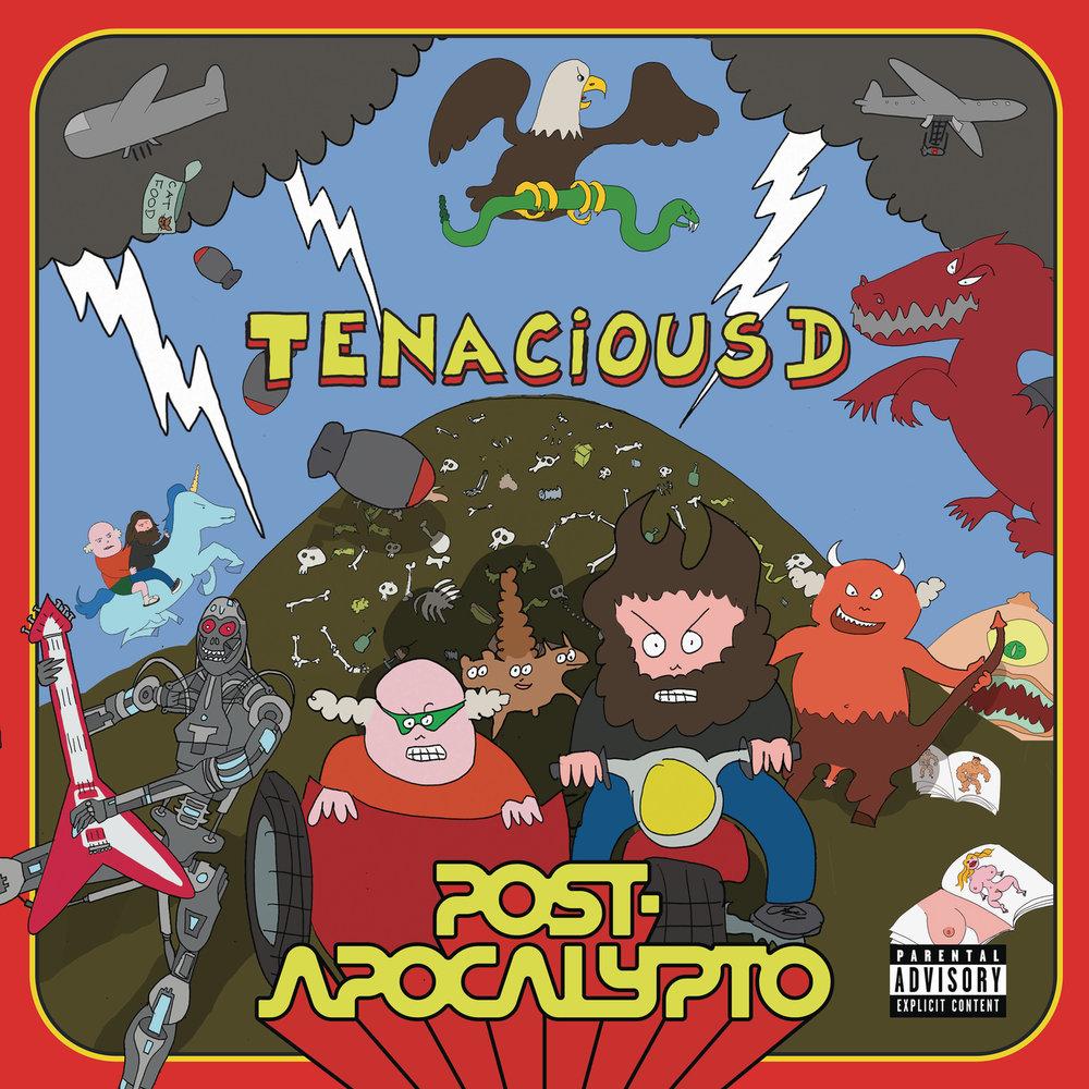 Tenacious D – Post-Apocalypto (★★): Te veel nemen, weinig geven