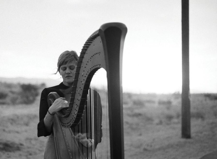 Mary Lattimore @ AB Salon (Ancienne Belgique): Harp met een extra dimensie