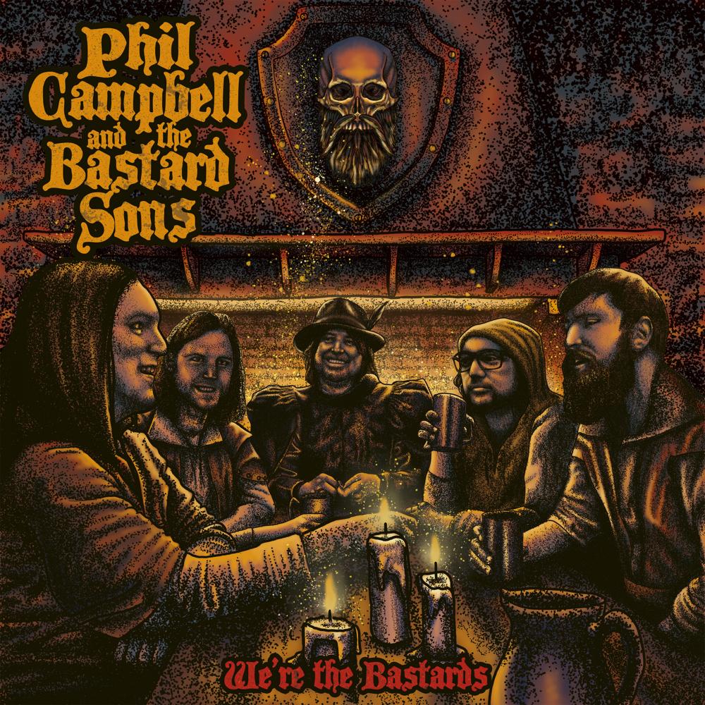 Phil Campbell and the Bastard Sons – We're the Bastards (★★★★): Hardrockende gezinnen heersen!