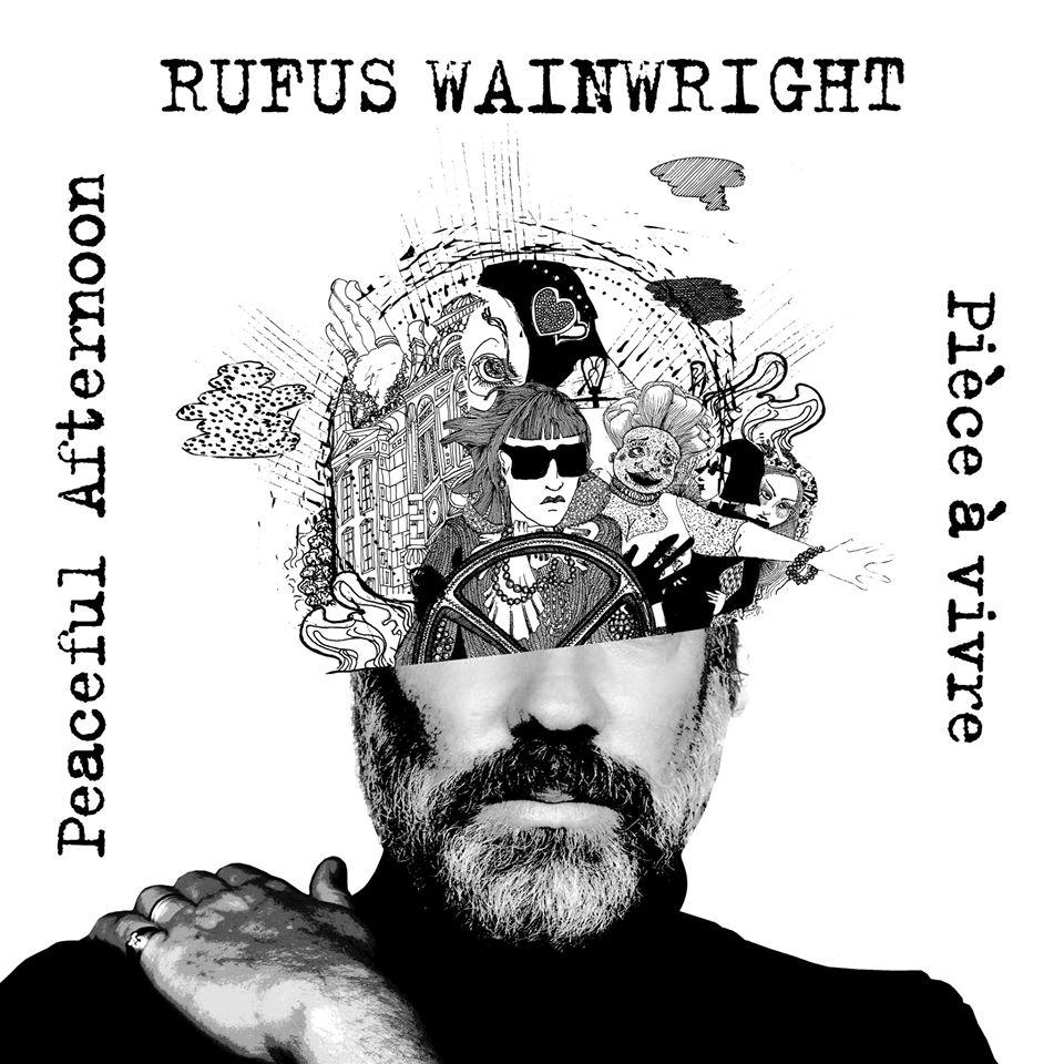 """Nieuwe singles Rufus Wainwright – """"Peaceful Afternoon"""" & """"Pièce à vivre"""""""