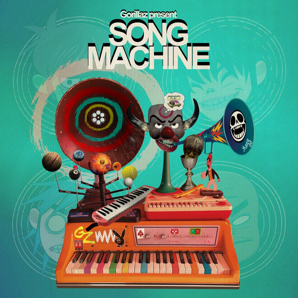 Gorillaz – Song Machine Season One: Strange Timez (★★★★): Infestatie van oorwurmen