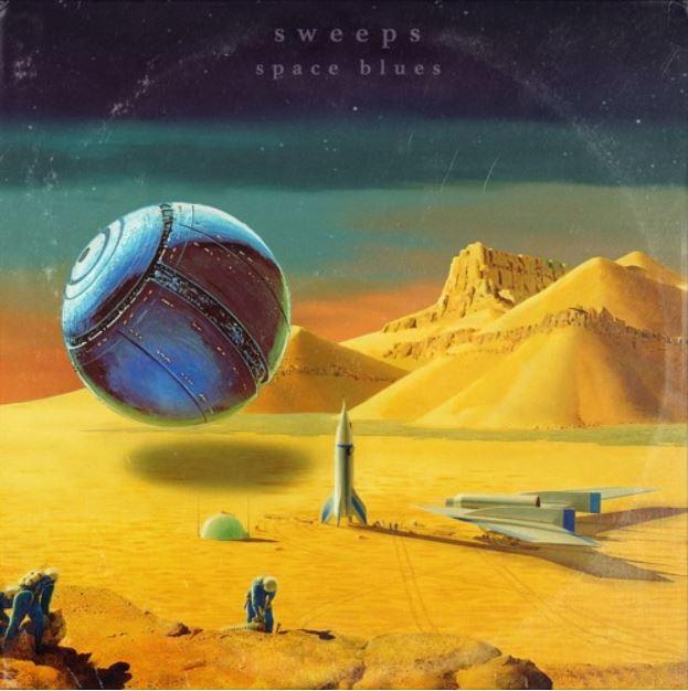 Sweeps – Space Blues (★★★★): Tot aan de maan en terug